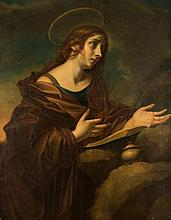 AFTER CARLO DOLCI (1616-1686)  THE PENITENT MAGDALEN  oil on canvas