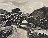 • Sir Kyffin Williams, R.A. (1918-2006)  Farm near Cyffylliog  sign, Kyffin Williams, £150