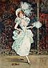 ATTRIBUTED TO DUDLEY HARDY, R.I., R.O.I. (1867-1922)  GAITEY GIRL , Dudley Hardy, £50