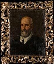 FOLLOWER OF THE BASSANO FAMILY (C. 1600)  PORTRAIT OF A MAN  in ela
