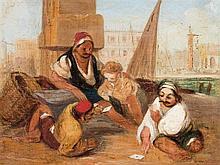 FOLLOWER OF RICHARD PARKES BONINGTON (1802-1828)  VENETIAN SCENE  o