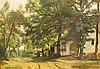 THEODORE FOURMOIS (1814-1871)  WOODED LANDSCAPE WITH FARM BUILDINGS  , Theodore Fourmois, £150