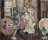 Henri-AimÉ Duhem (1860-1941)  Objects in an elegant interior  signe, Henri Duhem, £200