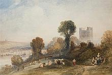Charles Marshall (1806-1890)  A View of Rochester  signed with mono