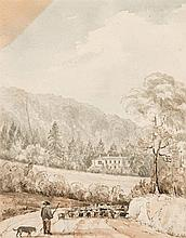 Rev. Horace Pechell (1792-after 1881)  Rectory House, Bix, Henley-on-Th