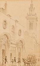 Thomas Hosmer Shepherd (1793-1864)  a folio of london views  includ