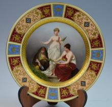 One Royal Vienna Style Plate