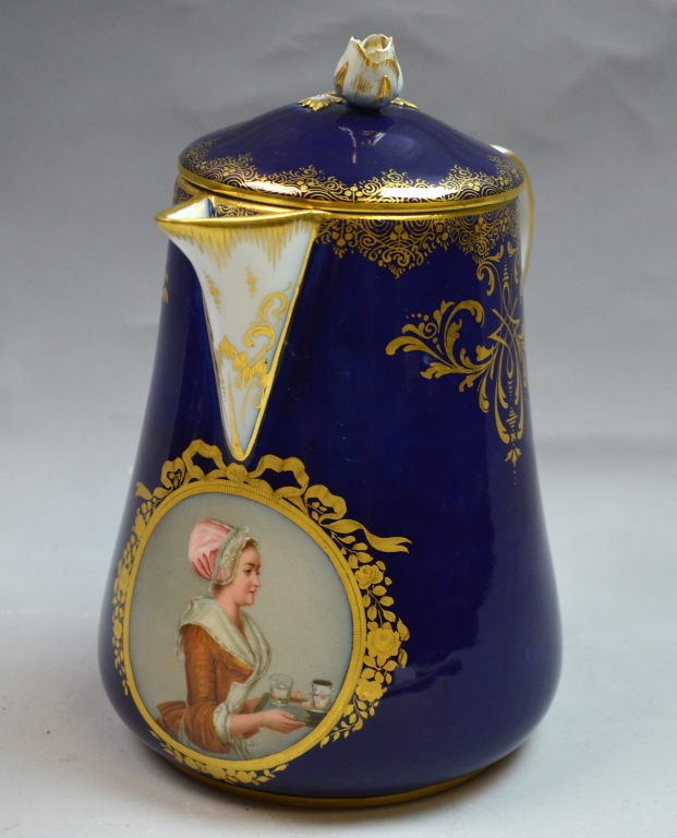 Meissen Chocolate Jug