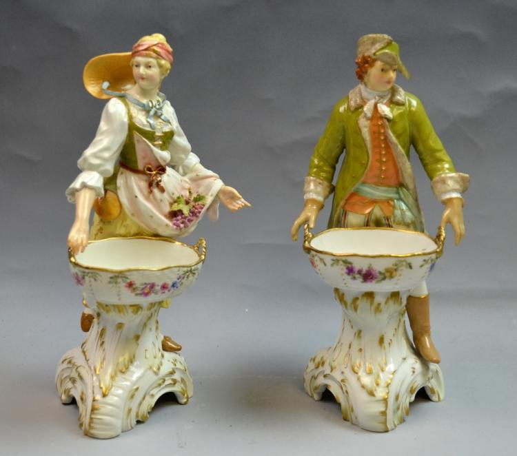 Pair of K.P.M. Figures