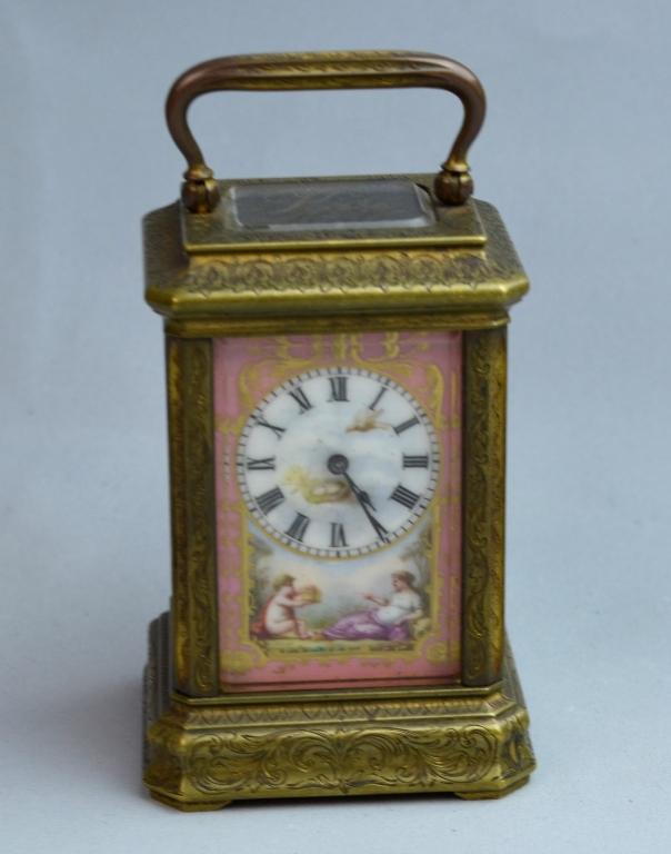 Viennese Enamel Clock