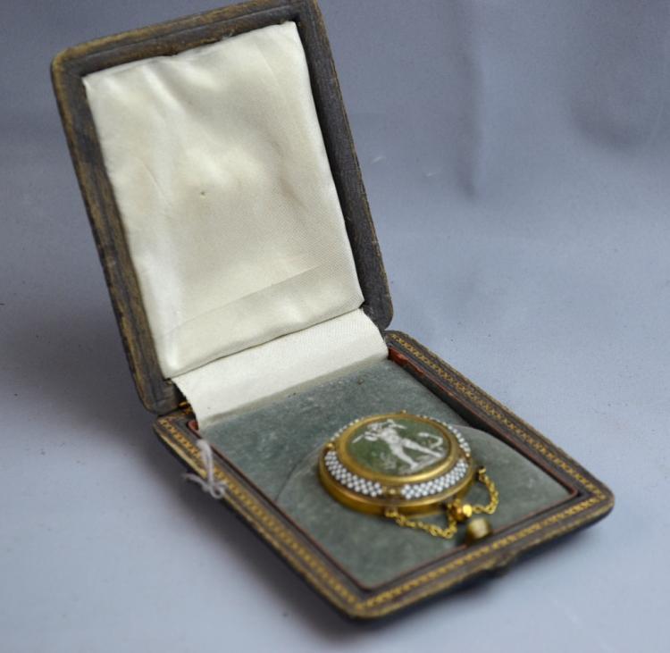 Mosaic Gold Pendant