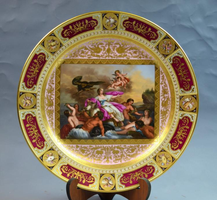 Vienna Porcelain Charger