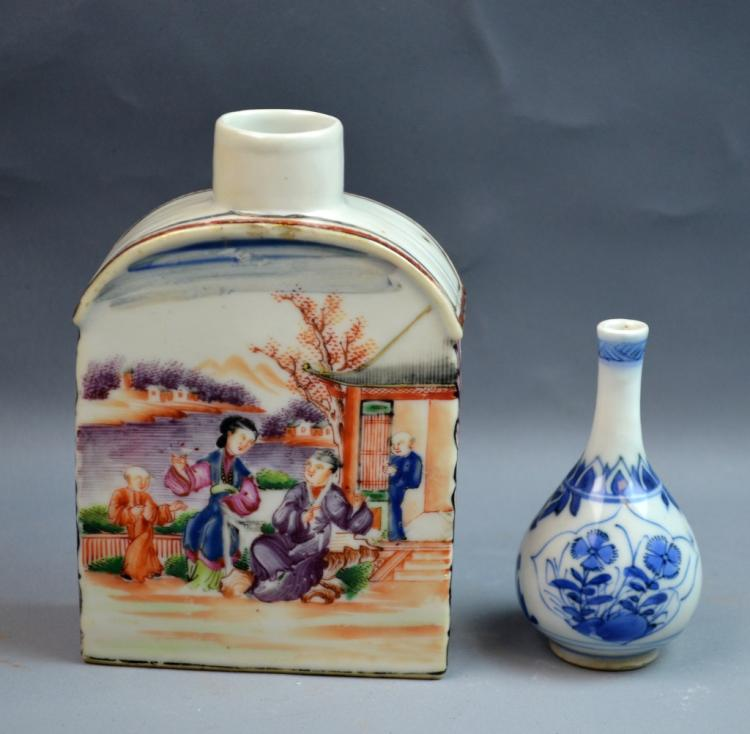 Two Chinese 18th Century Export Porcelain Items