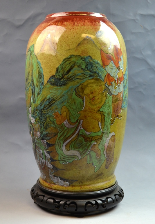 Japanese 19th Century Porcelain Vase