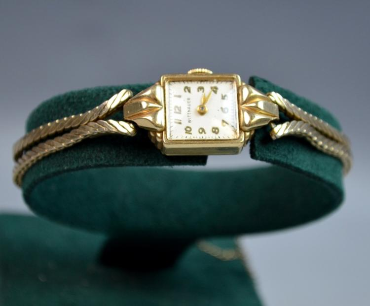 WITTNAUER Lady's Watch with Gold Watch Face