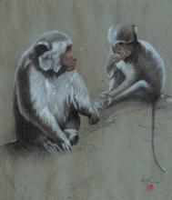 LEE MAN FONG | Two Monkeys