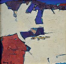 UMI DAHLAN | Abstraksi Bidang Biru