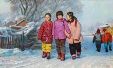 LI SHUJI | Three Girls in Winter