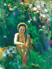 REN JIANHUI | Beauty Among The Flower