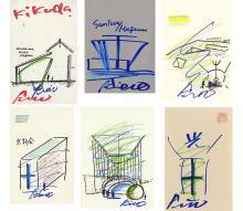 TADAO ANDO   Architecture Sketch