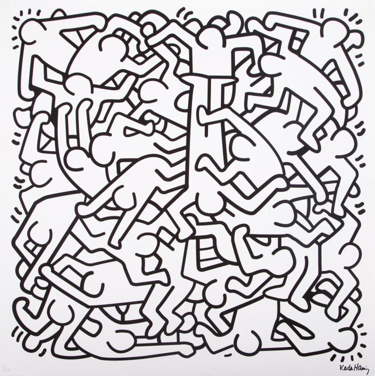 Prints Haring Mercury Fine Art