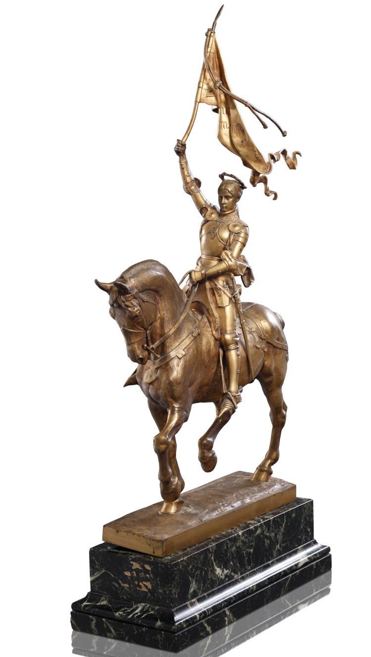 Emmanuel Fremiet (1824-1910)  Jeanne d''Arc