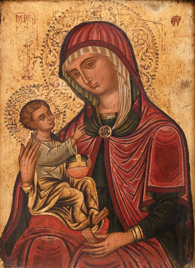 Vierge à l'enfant - Byzantine