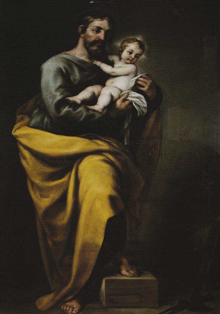 SAINT JOSEPH ET L''ENFANT