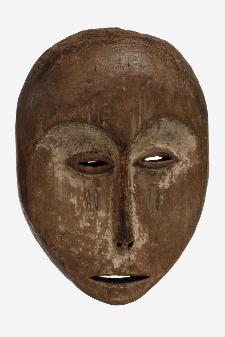 Masque au visage en forme de cœur