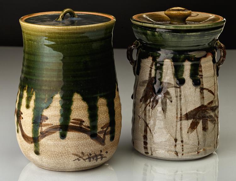 Deux pots à eau