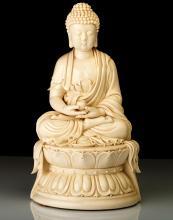 Bouddha en porcelaine