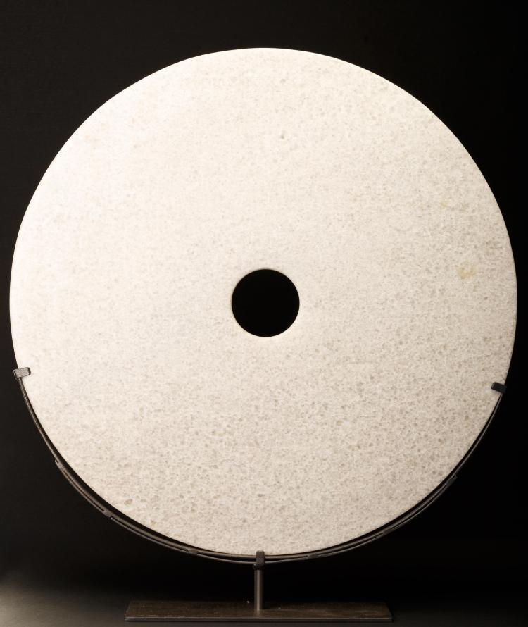 Grand disque Bi en jadéïte