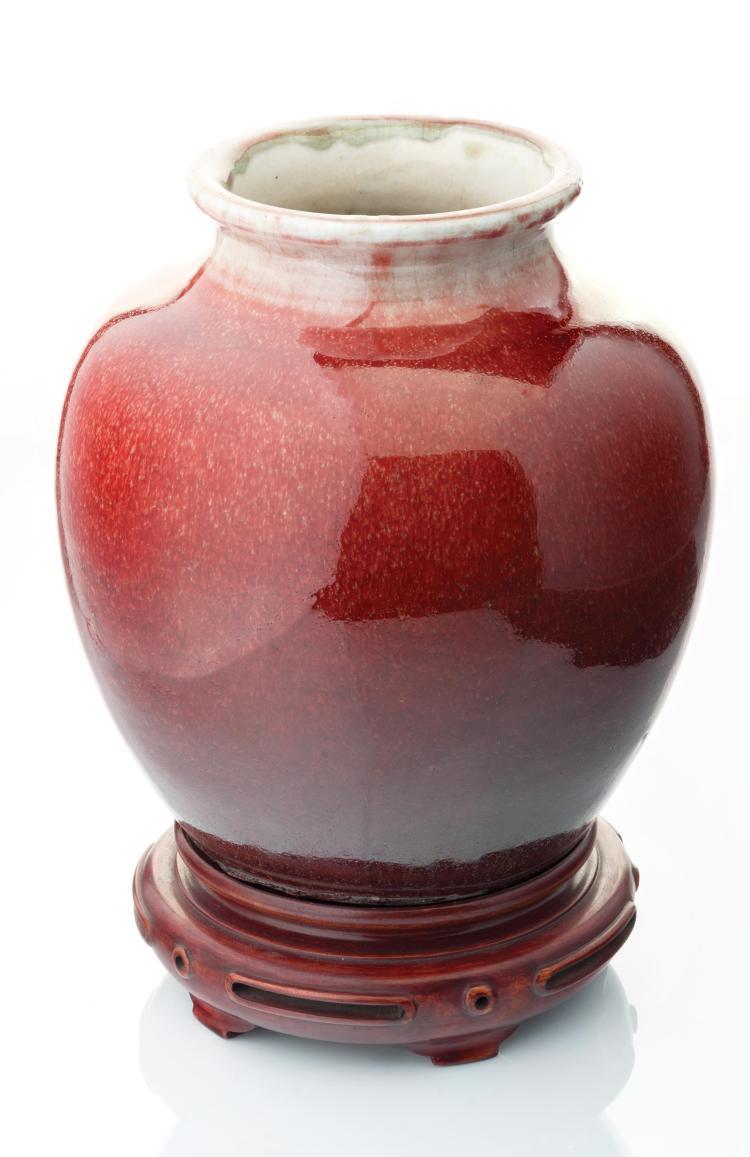 Potiche en céramique