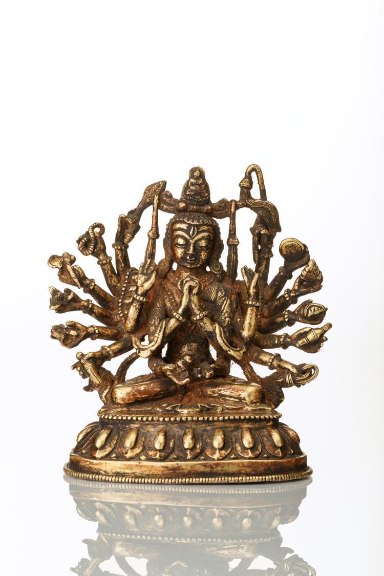 Bouddha aux mille bras