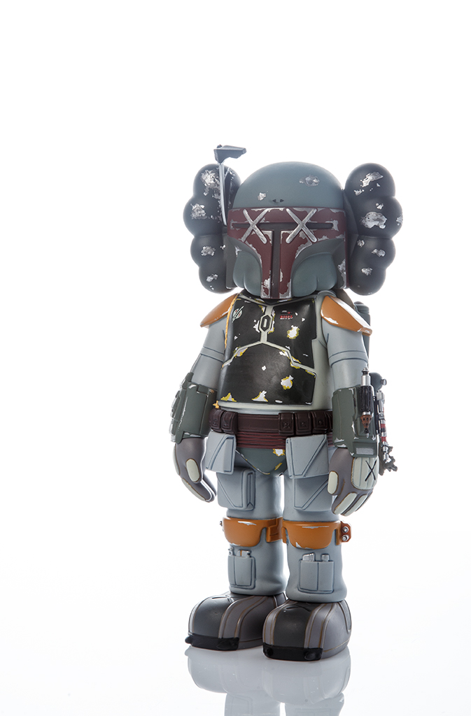 KAWS BOBA FETT  Collaboration Kaws x Star Wars, produit par Original Fake.