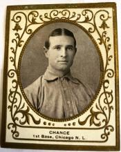 1909 Ramly (T204) Frank Chance #23 (Hall of Fame)