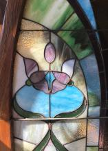 Arched Pair of Stained Glass Windows
