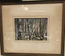 Watercolor H. Lee Hirsche
