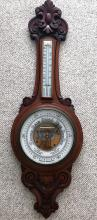 19th C  Porcelain faced  Barometer