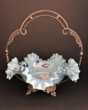 19thC Brides Maid Basket