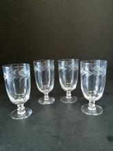 Fostoria Crystal Glasses