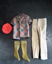 1961 Ken Doll Accessories