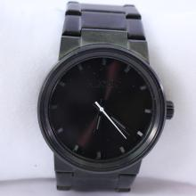 Men's Nixon The Cannon All Gunmetal Stainless Steel Quartz Watch - A160-001-00