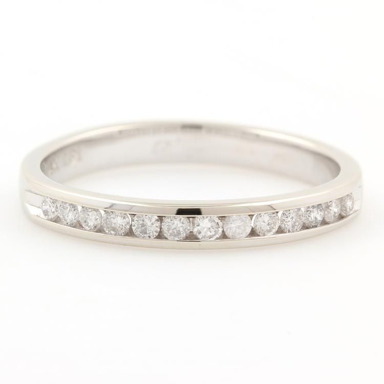 NEW Classic 14K White Gold Natural Diamond 0.25CTW Wedding Anniversary Band Ring