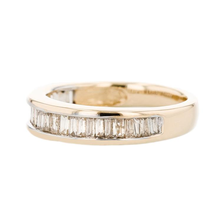 Charming Modern 14K Yellow Gold Lady's Diamond Ring - 1.48CTW - Brand New