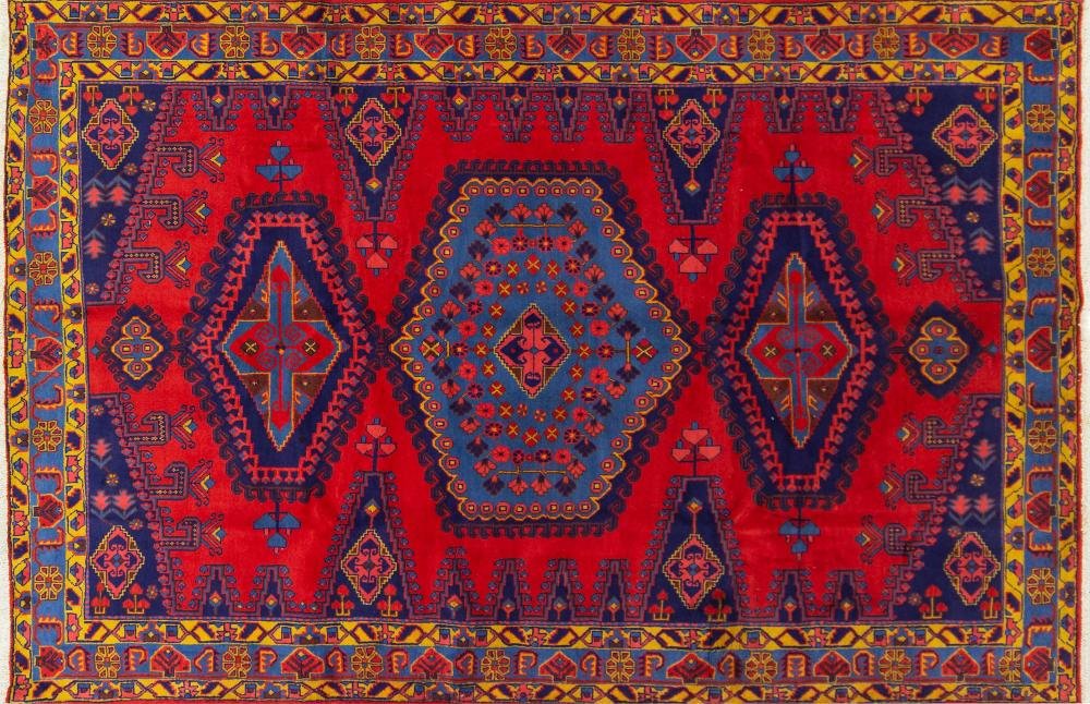 A Persian Hand Knotted Viss Carpet, 308 x 208