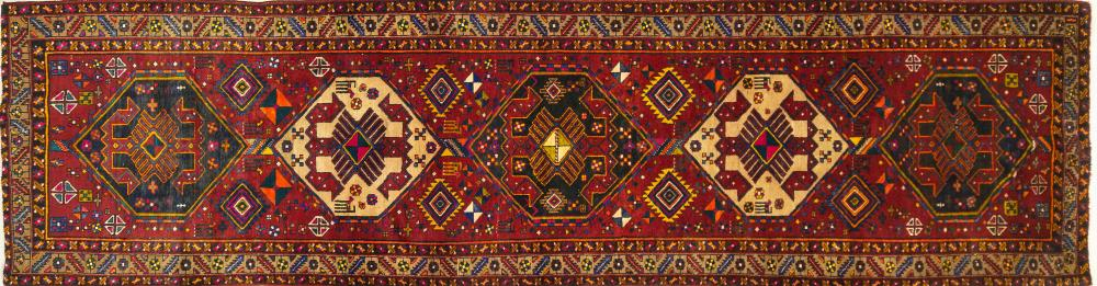 A Persian Hand Knotted Azari Runner, 450 x 120