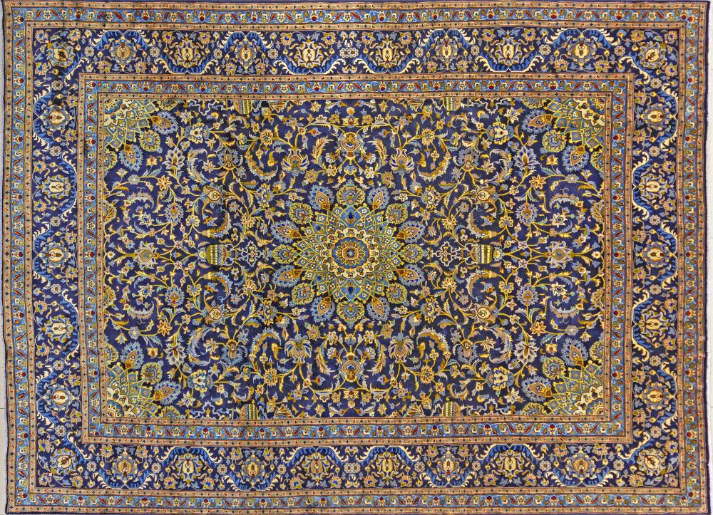 A Persian Hand Knotted Kashmar Carpet, 338 x 248