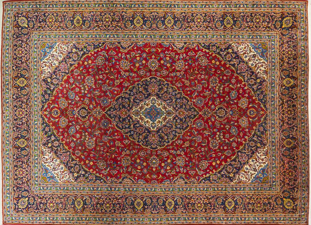 A Persian Hand Knotted Ardakan Carpet, 410 x 300