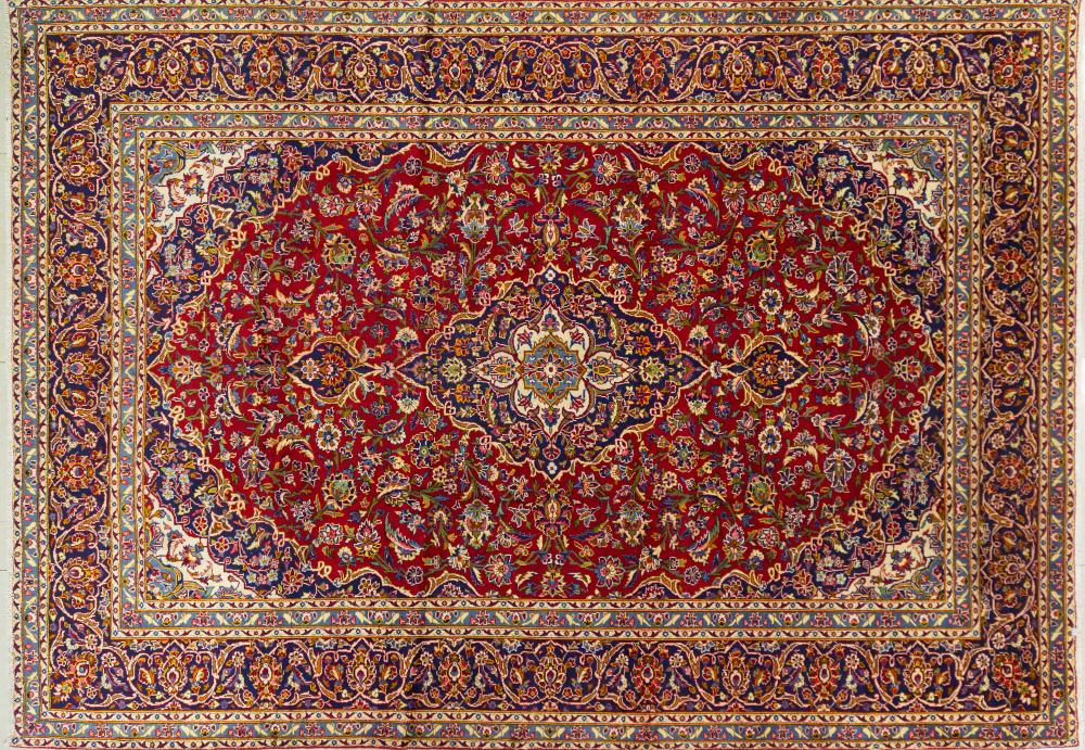 A Persian Hand Knotted Ardakan Carpet, 412 x 290